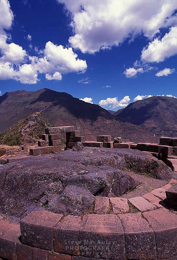 The Hitching Post of the Sun, Pisac, Sacred Valley, Cusco, Peru