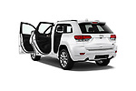 Car images close up view of a 2017 Jeep Grand Cherokee Overland 5 Door SUV doors
