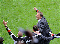 Coach John Van Den Brom of RSC Anderlecht   .Anderlecht Campione del Belgio .Football Calcio 2012/2013.Jupiter League Belgio .Foto Insidefoto .ITALY ONLY
