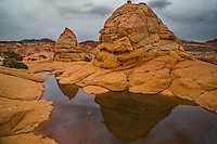 The unusual rock formations at South Coyote Buttes, Arizona