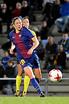Spanish Women's Football League Iberdrola 2017/18 - Game: 9.<br /> FC Barcelona vs Madrid CFF: 7-0.<br /> Elise Bussaglia.