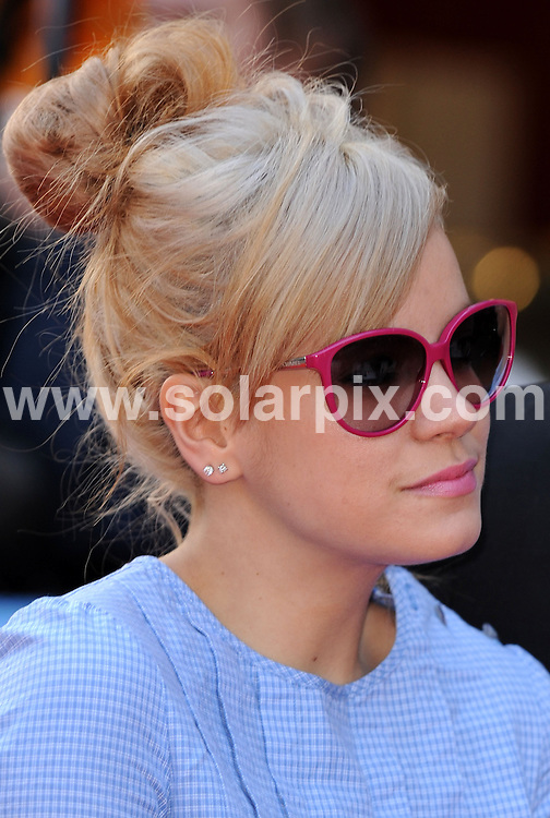 **ALL ROUND PICTURES FROM SOLARPIX.COM**.**WORLDWIDE SYNDICATION RIGHTS**.Lily Allen attends the world premiere of Flashback of a Fool in London's West End..JOB REF:  6129  SSD     DATE: 13.04.08.**MUST CREDIT SOLARPIX.COM OR DOUBLE FEE WILL BE CHARGED* *UNDER NO CIRCUMSTANCES IS THIS IMAGE TO BE REPRODUCED FOR ANY ONLINE EDITION WITHOUT PRIOR PERMISSION*