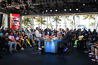MIAMI BEACH, FL - JANUARY 29: Undisputed at the Fox Sports South Beach studio during Super Bowl LIV week on January 29, 2020 in Miami Beach, Florida. (Photo by Frank Micelotta/Fox Sports/PictureGroup)