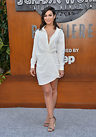 Ashley Iaconetti at the premiere for &quot;Jurassic World: Fallen Kingdom&quot; at the Walt Disney Concert Hall, Los Angeles, USA 12 June 2018<br /> Picture: Paul Smith/Featureflash/SilverHub 0208 004 5359 sales@silverhubmedia.com