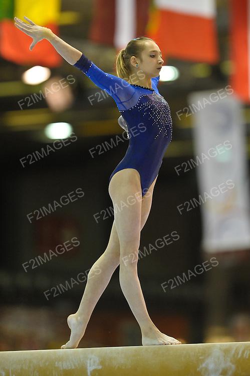 European Gymnastics Championships Brussels 13.5.12.Individual Apparatus Finals. KOMOVA Victoria