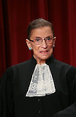 Washington, DC - September 29, 2009 -- Associate Justice of the United States Supreme Court Ruth Bader Ginsburg poses for a photo during a photo-op at the U.S. Supreme Court in Washington, D.C. on Tuesday, September 29, 2009..Credit: Gary Fabiano / Pool via CNP