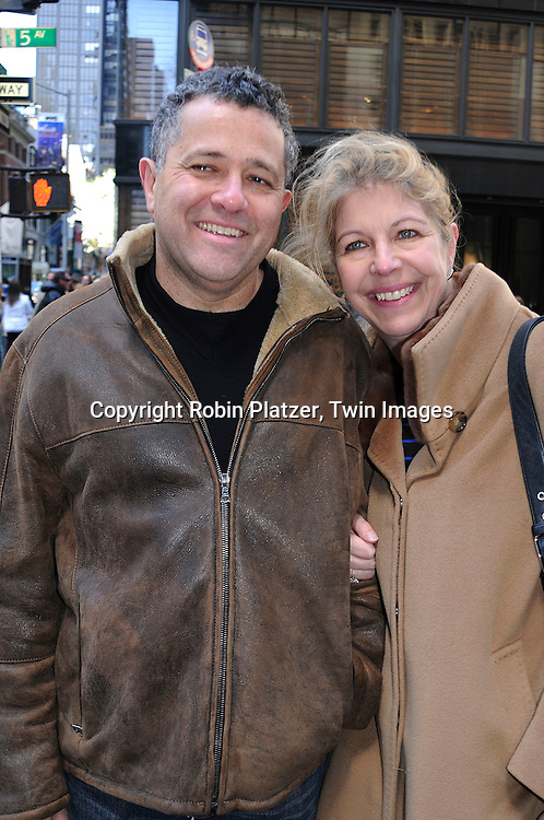 Jeffrey Toobin and wife | Robin Platzer/Twin Images