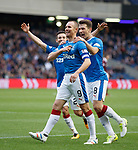 Kenny Miller celebrates his second goal for Rangers