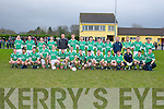 The Milltown/Castlemaine squad that defeated Clondegad (Clare) in the quarter final of the Munster Intermediate Club championship in Milltown on Sunday