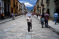 City center, Oaxaca, Mexico.