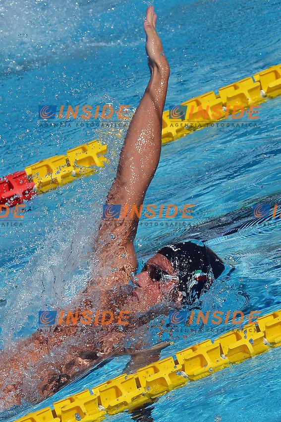 Sebastiano Ranfagni Italy 200m backstroke men.Roma 16/6/2012 Foro Italico.Nuoto Swimming 49mo trofeo settecolli.Foto Andrea Staccioli Insidefoto