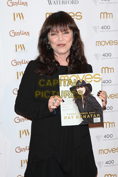 NEW YORK, NY - NOVEMBER 5: Pat Benatar attends Moves' 2015 Power Women Awards Gala presented by New York Moves Magazine at  India House Club on November 5, 2015 in New York City.   <br /> CAP/MPI99<br /> &copy;MPI99/Capital Pictures