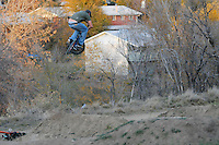 02 November 2008: Riders jump at the Sunset Trails in Lakewood, Colorado as part of a Halloween Jam.