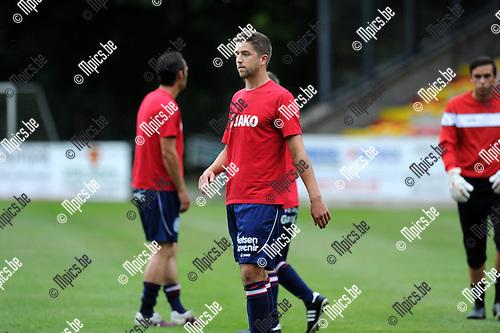 2012-08-01 / Voetbal / seizoen 2012-2013 / TSV Lyra / Olivier Trouillard..Foto: Mpics.be