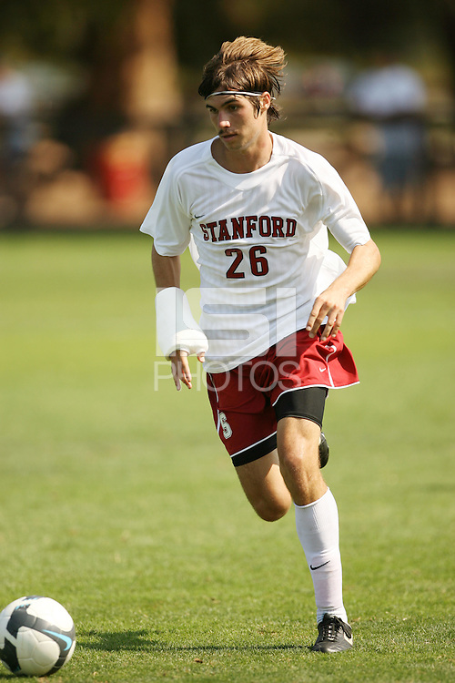 STANFORD, CA - SEPTEMBER 27:  Taylor Amman of the Stanford Cardinal during Stanford's 2-0 win over New Mexico State on September 27, 2009 at Laird Q. Cagan Stadium in Stanford, California.