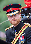 17.06.2017, London; UK: TROOPING THE COLOUR 2017 - PRINCE HARRY<br /> Queen Elizabeth and members of the Royal Family attend Trooping the Colour, that marks the Queen Elizabeth&rsquo;s Official Birthday.<br /> Mandatory Credit Photo: &copy;MoD/NEWSPIX INTERNATIONAL<br /> <br /> IMMEDIATE CONFIRMATION OF USAGE REQUIRED:<br /> Newspix International, 31 Chinnery Hill, Bishop's Stortford, ENGLAND CM23 3PS<br /> Tel:+441279 324672  ; Fax: +441279656877<br /> Mobile:  07775681153<br /> e-mail: info@newspixinternational.co.uk<br /> *All fees payable to Newspix International*