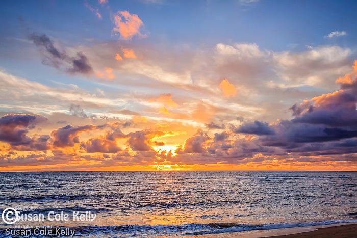 Sunrise at Head of the Meadow in Truro, Cape Cod, MA, USA