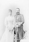 Preussen, Prinzessin Viktoria Margarete von - D<br /> *12.04.1866-13.11.1929+<br /> - mit Prinz Adolf zu Schaumburg-Lippe <br /> - Aufnahme: Wilhelm Hoeffert<br /> - 1890<br /> <br /> <br /> Originalaufnahme im Archiv von ullstein bild<br /> <br /> - 01.01.1890-31.12.1890<br /> <br /> Es obliegt dem Nutzer zu pr&uuml;fen, ob Rechte Dritter an den Bildinhalten der beabsichtigten Nutzung des Bildmaterials entgegen stehen.<br /> <br /> Preussen, Princess Viktoria Margarete von - Germany<br /> *12.04.1866-13.11.1929+<br /> - with Prince Adolf zu Schaumburg-Lippe <br /> - Photographer: Wilhelm Hoeffert<br /> - 1890<br /> <br /> <br /> Vintage property of ullstein bild<br /> <br /> - 01.01.1890-31.12.1890<br /> <br /> It is in the duty of the user of the image to clear prior to usage if any Third Party rights preclude the intended use.