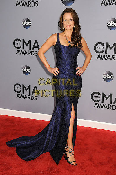 05 November 2013 - Nashville, Tennessee - Kimberly Williams-Paisley. 47th CMA Awards, Country Music's Biggest Night, held at Bridgestone Arena. <br /> CAP/ADM/BP<br /> &copy;BP/ADM/Capital Pictures