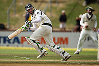 NZ's Martin Guptill during day four of the 3rd test between the New Zealand Black Caps and India at Allied Prime Basin Reserve, Wellington, New Zealand on Monday, 6 April 2009. Photo: Dave Lintott / lintottphoto.co.nz.