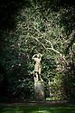 Garden statue, Hinton Ampner, Hampshire.