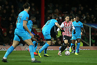 Sergi Canos of Brentford in action during Brentford vs Barnet, Emirates FA Cup Football at Griffin Park on 5th February 2019