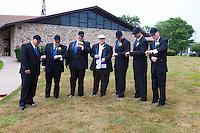 7/28/12 2:12:53 PM - Fairless Hills, PA. -- Andrea & Dan - July 28, 2012 in Fairless Hills, Pennsylvania. -- (Photo by Joe Koren/Cain Images)