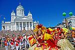 Festa de carnaval em Helsinki. Finlândia. 2007. Foto de Vinicius Romanini.