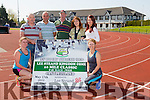 Launching the athletics club 10 mile classic on May 17th at 11 o clock ,starting at An Riocht.Pictured l-r Eileen O'Connor,James Lacey,Noel O'Connell,Brendan Conrad,Kate McSweeney,Christina Egan and Tara Barnsley