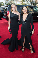 Nominated for BEST PERFORMANCE BY AN ACTRESS IN A LIMITED SERIES OR A MOTION PICTURE MADE FOR TELEVISION for her role in &quot;Big Little Lies,&quot; actress Reese Witherspoon and Eva Longoria arrive at the 75th Annual Golden Globe Awards at the Beverly Hilton in Beverly Hills, CA on Sunday, January 7, 2018.<br /> *Editorial Use Only*<br /> CAP/PLF/HFPA<br /> &copy;HFPA/Capital Pictures