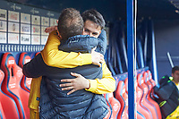 Jagoba Arrasate (Coach; CA Osasuna) before the Spanish football of La Liga 123, match between CA Osasuna and AD Alcorcón at the Sadar stadium, in Pamplona (Navarra), Spain, on Sanday, December 16, 2018.