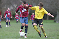 Branksome Con 2 Branksome Railway 2 in the Sunday League Premier division at Branksome rec - 04-12-11