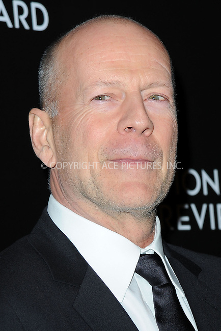 WWW.ACEPIXS.COM<br /> January 6, 2015 New York City<br /> <br /> Bruce Willis attending the 2014 National Board of Review Gala at Cipriani 42nd Street on January 6, 2015 in New York City.<br /> <br /> Please byline: Kristin Callahan/AcePictures<br /> <br /> ACEPIXS.COM<br /> <br /> Tel: (212) 243 8787 or (646) 769 0430<br /> e-mail: info@acepixs.com<br /> web: http://www.acepixs.com