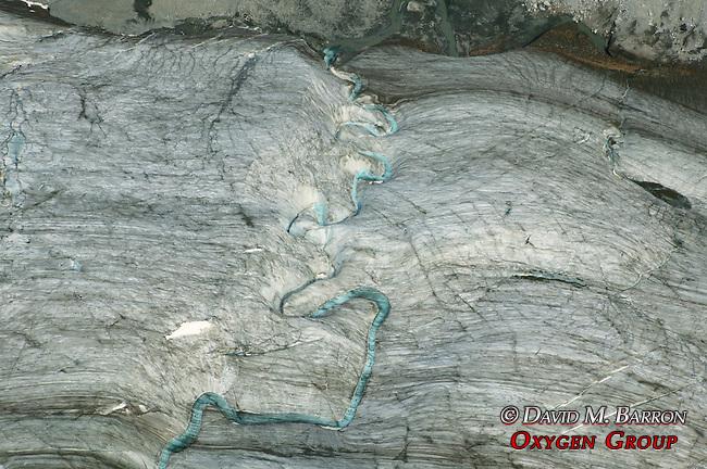 Aerial Glacier Scenic