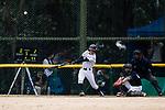 #52 Yoshii Harue of Japan bats during the BFA Women's Baseball Asian Cup match between Japan and Hong Kong at Sai Tso Wan Recreation Ground on September 5, 2017 in Hong Kong. Photo by Marcio Rodrigo Machado / Power Sport Images4