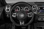 Car pictures of steering wheel view of a 2016 Volkswagen Tiguan 2.0T-R-Line 5 Door SUV Steering Wheel