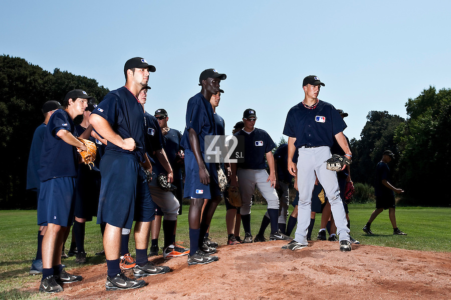 Baseball - MLB Academy - Tirrenia (Italy) - 19/08/2009 - Players (2009 European Academy)