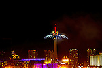 "America's Party: Las Vegas New Year's Eve 2016. This year's spectacular fireworks show theme will be ""On Top of The World"" and will feature a special tribute in ..."