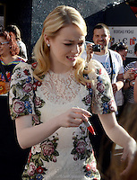 Emma Stone - The Amazing Spider-Man - photocall in Madrid NORTEPHOTO.COM<br />