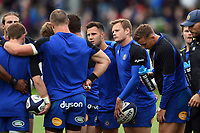 Chris Cook of Bath Rugby looks on during the pre-match warm-up. Pre-season friendly match, between Edinburgh Rugby and Bath Rugby on August 17, 2018 at Meggetland Sports Complex in Edinburgh, Scotland. Photo by: Patrick Khachfe / Onside Images