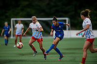 Seattle, WA - Wednesday, June 28, 2017: Carson Pickett during a regular season National Women's Soccer League (NWSL) match between the Seattle Reign FC and the Chicago Red Stars at Memorial Stadium.