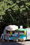 Ono Tacos, a taco truck in Lahaina, Maui, Hawaii, USA