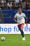 15.08.2018,  GER; FBL, Testspiel, Hamburger SV vs FC Bayern Muenchen ,DFL REGULATIONS PROHIBIT ANY USE OF PHOTOGRAPHS AS IMAGE SEQUENCES AND/OR QUASI-VIDEO, im Bild Einzelaktlion Hochformat Leo Lacroix (Hamburg #02) Foto © nordphoto / Witke
