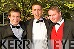 Having a ball at the Debs Ball held in The Abby Gate Hotel on Saturday evening