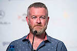 "Producer Casey Walker during the press conference of the presentation of ""The Void"" at Festival de Cine Fantastico de Sitges in Barcelona. October 08, Spain. 2016. (ALTERPHOTOS/BorjaB.Hojas)"