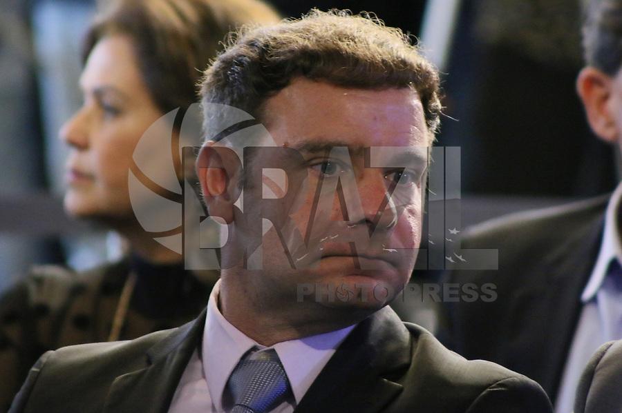 SÃO PAULO, SP, 05.02.2019: POLÍTICA-SP: José Mario Capriolli, Presidente da Azul, participa de anuncio de pacote de medidas para o setor de transporte aéreo, no Palácio dos Bandeirantes, nesta terça-feira, 5. ( Foto: Charles Sholl/Brazil Photo Press)