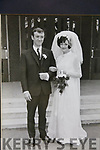 John & Joan Greensmith on their wedding day in England on the 27th September 1969.