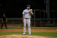 AZL Dodgers Lasorda relief pitcher Enmanuel Marcano (31) during an Arizona League game against the AZL White Sox at Camelback Ranch on June 18, 2019 in Glendale, Arizona. AZL Dodgers Lasorda defeated AZL White Sox 7-3. (Zachary Lucy/Four Seam Images)