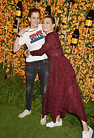 PACIFIC PALISADES, CA - OCTOBER 06: Samantha Ronson (L) and Ellen Pompeo arrive at the 9th Annual Veuve Clicquot Polo Classic Los Angeles at Will Rogers State Historic Park on October 6, 2018 in Pacific Palisades, California.<br /> CAP/ROT/TM<br /> &copy;TM/ROT/Capital Pictures