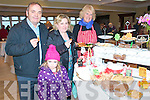 Listowel Food  & Craft Market : Attending the food and cratf market in the Listowel Arms Hotel on Sunday were Brian , Molly & Ellen Mulvihill, Listowel and Olga Demcry of Olga catering, Castlegregory.